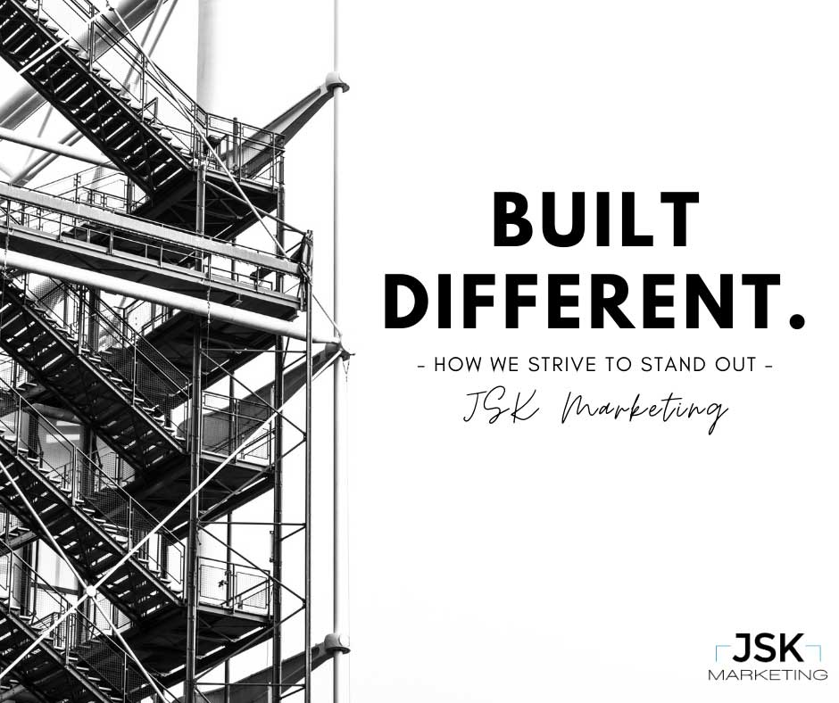Built Different: How We Strive to Stand Out